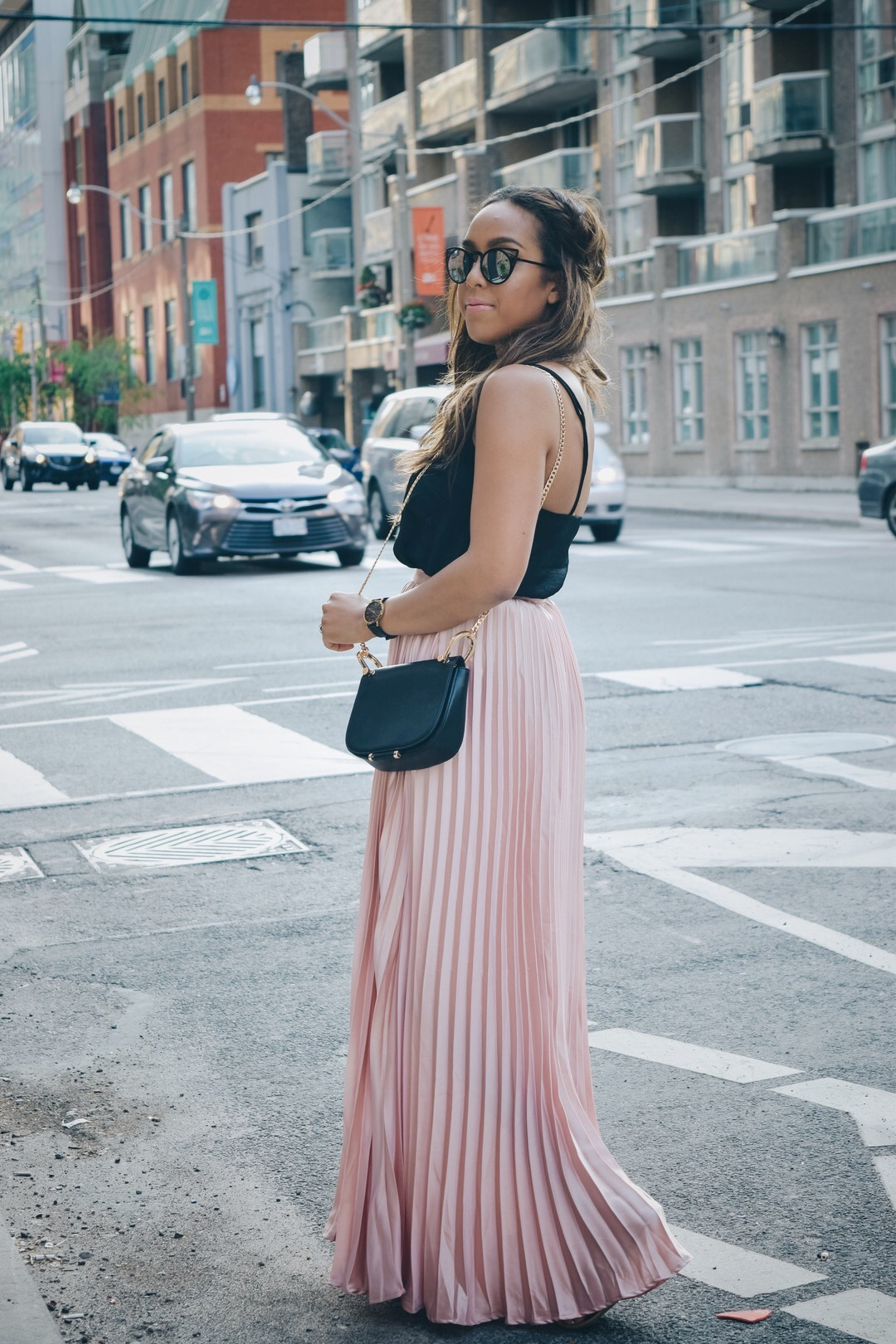 Spring Fave: Pleated Maxi Skirt | Basic Babe by Lauren Sheriff