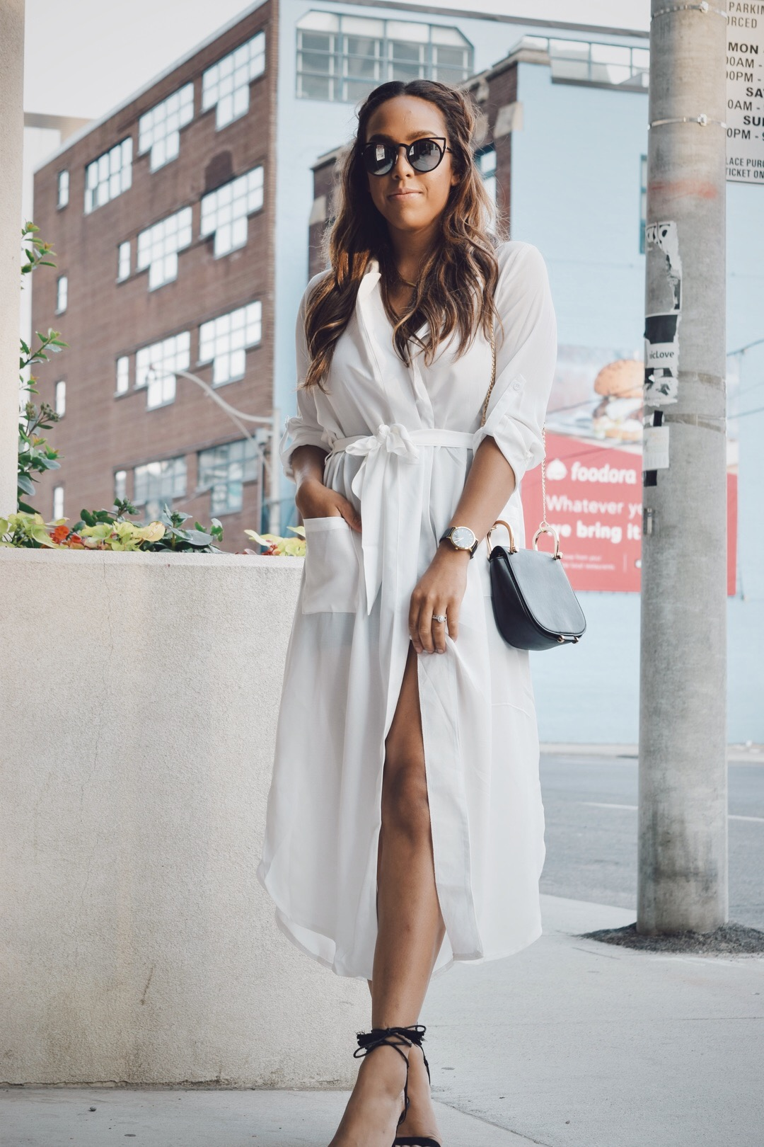 Currently Crushing On: White Shirt Dress | Basic Babe by Lauren ...