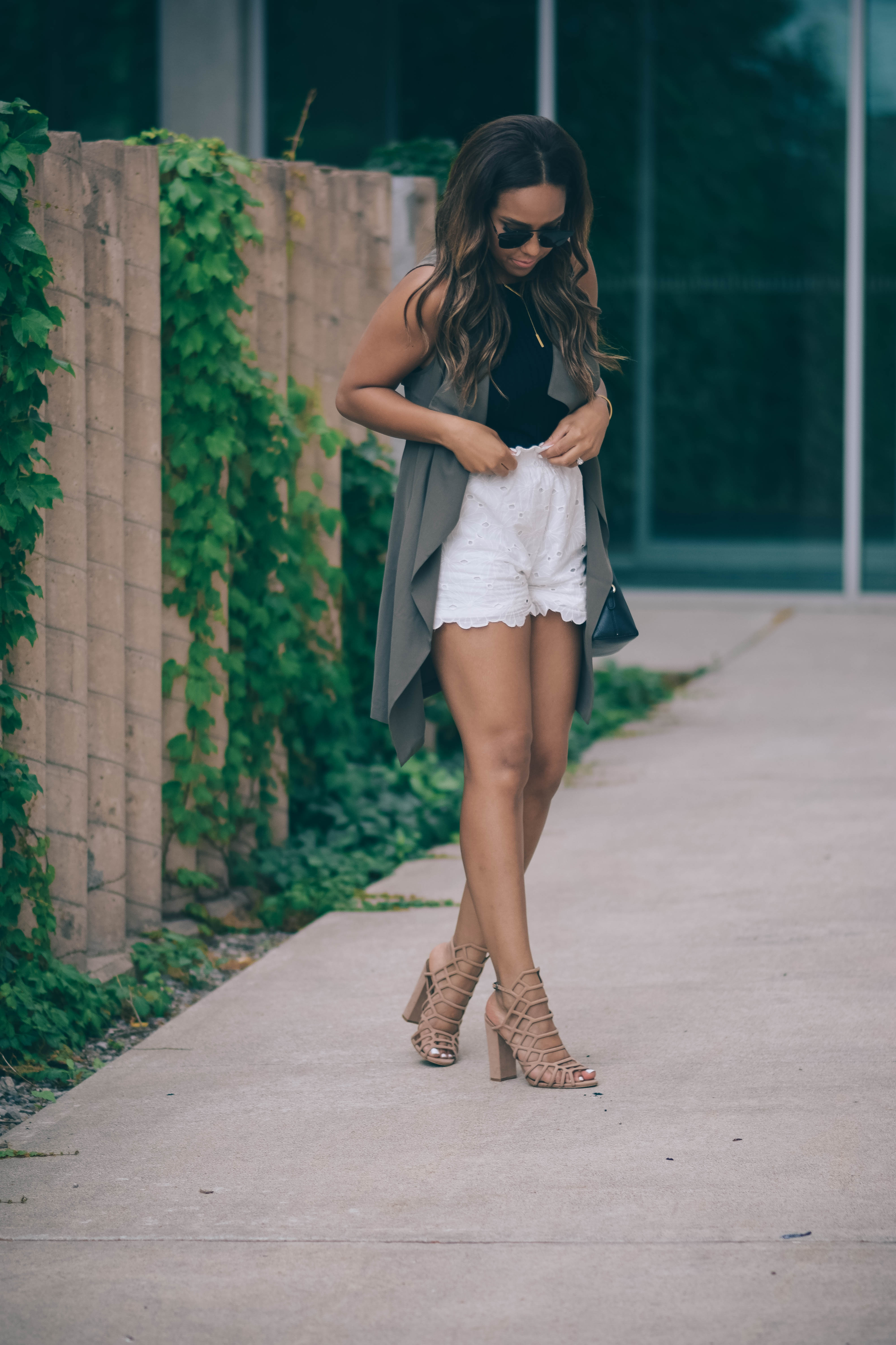 layering for summer missguided shorts